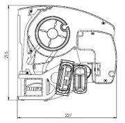 Knikarmscherm V306 Albufeira