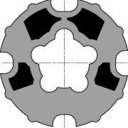 Meenemer + adapter Motor Somfy LT60