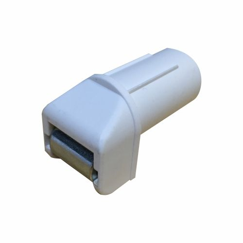 Kunststof bandgeleider 14 mm  stalen wiel