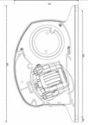 Knikarmscherm Ibiza Plus 3000 X 2500 mm